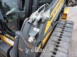 2013 New Holland C232 Skid Steer Loader Multi Terrain Fully Enclosed Cab