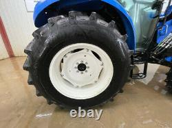 2013 New Holland T4.75 4wd Cab Tractor Loader