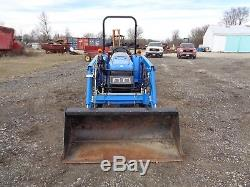 2013 New Holland Workmaster 40 Tractor, Loader, 4WD, Shuttle Shift, 165 hours