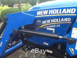 2014 New Holland Boomer 24 Tractor Loaders