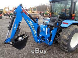 2014 New Holland Boomer 3040, Cab/Heat/Air, 4WD, Loader, Backhoe, R4, 159 Hours