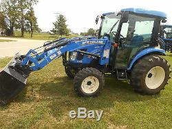 2014 New Holland Boomer 3050 Fwa // New Holland 250tl Loader // 97 Hours