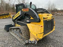 2014 New Holland C232 Compact Track Loader, Cab with Heat & Air Conditioning