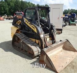 2014 New Holland C232 Compact Track Skid Steer Loader Clean Only 3100 Hours
