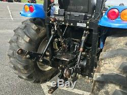 2014 New Holland Ford Boomer 41 Tractor With Loader 4x4 40 HP Gear Drive 474 Hrs