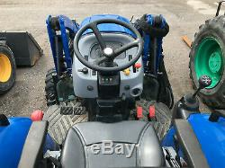 2015 NEW HOLLAND BOOMER 33 WITH LOADER, HYDRO, 4WD Stk#36296