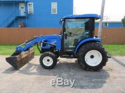 2015 NEW HOLLAND BOOMER 54D TRACTOR LOADER CAB WITH HEAT/AC WARRANTY 265 Hours