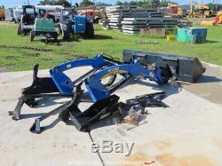 2015 New Holland 250TL Front Loader Boomer Tractor Attachment 72 Bucket bidadoo