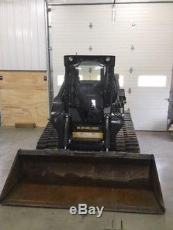 2015 New Holland C238 Compact Track Skid Steer Loader Great Condition