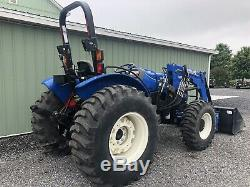2015 New Holland Workmaster 60 4x4 Tractor Loader Low Cost Shipping Rates