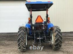 2016 NEW HOLLAND 70 WORKMASTER TRACTOR With LOADER, 3 PT, 540 PTO, 4X4, 370 HRS