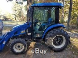 2016 New Holland Boomer 3050 4x4 Compact Tractor with Cab & Loader Coming Soon