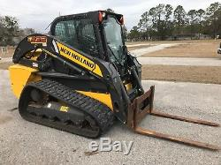 2016 New Holland C232 Skid Steer CTL Compact Track Loader LOW HOURS
