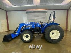 2016 New Holland Orops Workmaster 60 With 611tl Loader