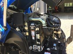 2016 New Holland T4 75 loader tractor
