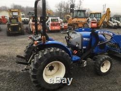 2016 New Holland Workmaster 33 4x4 Hydro Compact Tractor with Loader Only 177Hrs