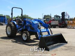 2016 New Holland Workmaster 37 Farm Utility Tractor 4WD Diesel 36HP Loader NEW