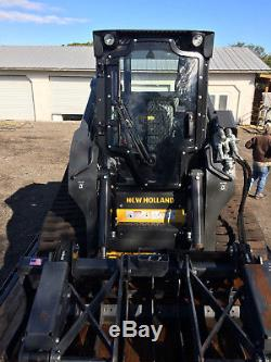 2017 NEW HOLLAND C238 SKID LOADER WithATTACHMENTS