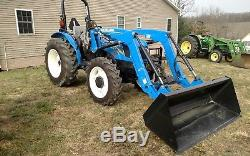 2017 New Holland Workmaster 70 Tractor 4x4 Loader