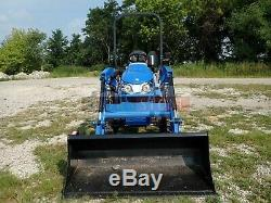 2019 NEW HOLLAND WORKMASTER 25S TRACTOR With LOADER, 9 HRS! 4X4, HYDRO, 540 PTO