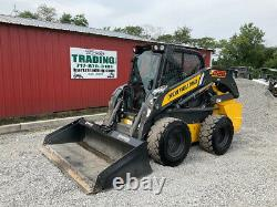 2019 New Holland L228 Skid Steer Loader with Cab 2 Speed Super Clean 900Hrs