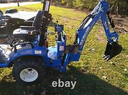 2020 New Holland Workmaster 25s Compact Tractor with Loader Backhoe