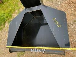 3/4 YARD CONCRETE BUCKET ATTACHMENT Bobcat Skid Steer Loader Cement Sand Water