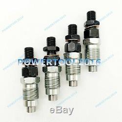 4 x Fuel Injector 131406360 New Holland Loader L/LS140 150 160 LX465 485 565 665
