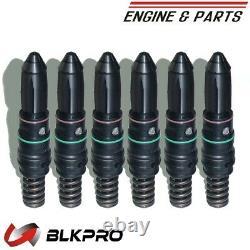 6 INJECTOR STC WithTAPPE FOR CUMMINS TK19 KTA19 QSK19G 3070178 3070729