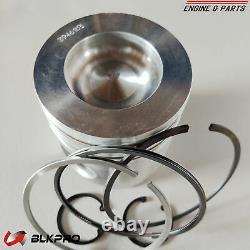 6 Piston and Piston Ring Kit Set STD For 5.9L Cummins ISBe 3800781 4B B5.9 6B