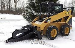 62 XL STUMP GRAPPLE BUCKET ATTACHMENT New Holland Terex Skid Steer Track Loader