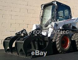 72 GRAPPLE BUCKET SKID STEER LOADER TRACTOR ATTACHMENT John Deere New Holland