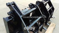 72 SEVERE-DUTY ROOT GRAPPLE RAKE ATTACHMENT Bobcat Kubota Skid-Steer Loader 6