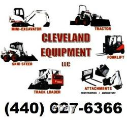 78 LOW PROFILE TOOTH BUCKET Skid-Steer Track Loader Attachment Teeth Bobcat nr