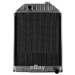 9828738 Radiator for Ford New Holland Skid Steer Loader L783 & L785 with Diesel