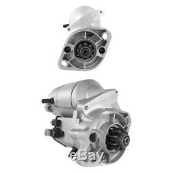 Anlasser für Motor Kubota Schäffer Toro. F2803 D1402 V2203. 028000-6240 JS734