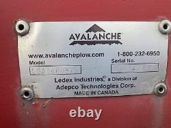 Avalanche LDAT400-16 16 Foot Wheel Loader Pusher Snow Pay Loader LDAT400 LDAT