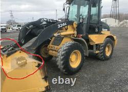 BUDD JD Deere 244J 244k 324k 344k Compact Wheel Loader ISO to SS adapter Volvo