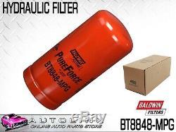 Baldwin Hydraulic Oil Filter For John Deere & New Holland Loaders Bt8848-mpg