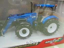 Britains FARM RARE 132 New Holland T6.180 Loader Tractor
