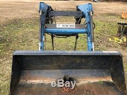 Bush Hog 2445 Quick Attach Front End Loader for Ford New Holland Farm Tractor