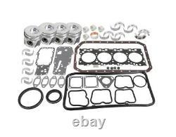 Case 580SM Series 2 Backhoe Loader Engine Overhaul Kit for Iveco N45