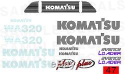 Decals 4 Case, Deere, Hyundai Halla Komatsu, New Holland Samsung Wheel Loaders
