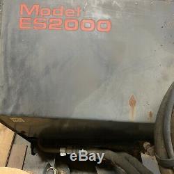 Erskine ES2000 72 Snowblower Hyd Snow Thrower Bobcat Skidsteer Deere Loader 6ft