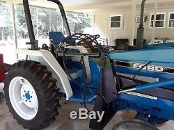 FORD NEW HOLLAND 1720 LOADER TRACTOR 2 W drive With 3 POINT HITCH PTO DIESEL