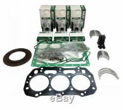Ford NH L150, LS150 Skid Steer Loader Engine Rebuild Kit. 50mm Piston