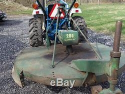 Ford New Holland 1715 4WD Diesel Loader Tractor with 3 point hitch & 540 PTO