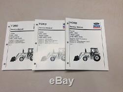 Ford New Holland 250C, 260C, 345D, 445D, 545D Tractor Loader Service Shop Manual