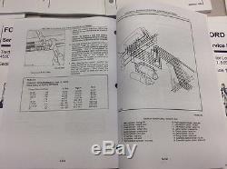 Ford New Holland 455D, 555D, 575D, 655D, 675D Tractor Loader Backhoe Service Manual