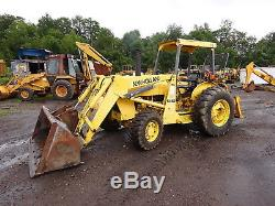 Ford New Holland 545D Tractor Loader LATE MODEL! 545 4WD Shuttle Turbo Diesel